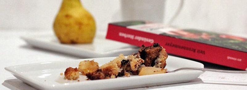 Birnenkuchen Slider - Birnenkuchen zur Kaffeezeit