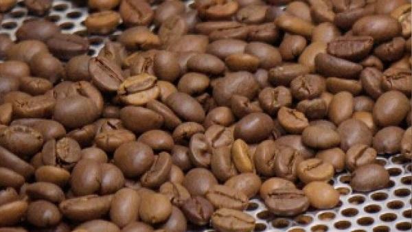 geroestete Kaffeebohnen