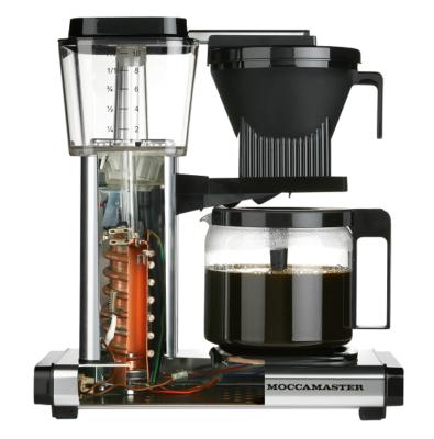 Filterkaffeemaschine Moccamaster mit offenem Heizstabelement
