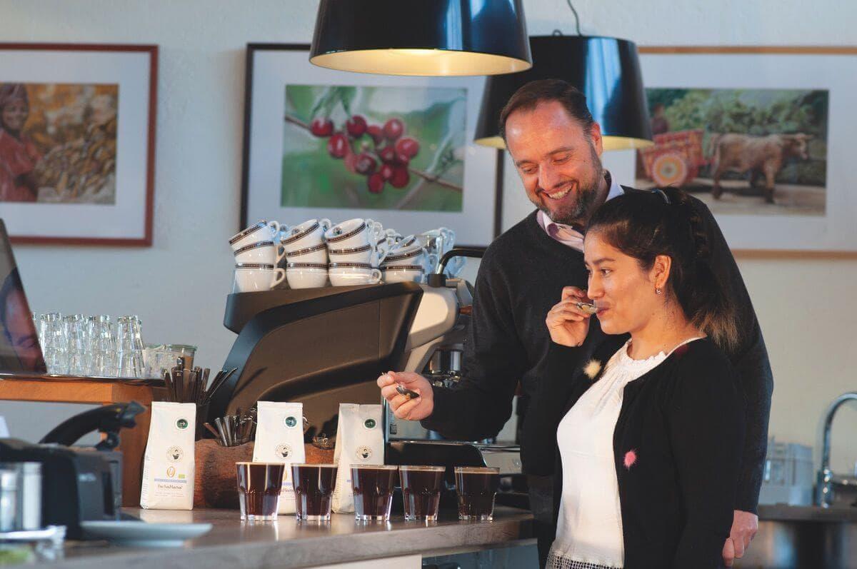 kategorie kaffee akademie - Wissensaustausch mit Aurelia aus Peru