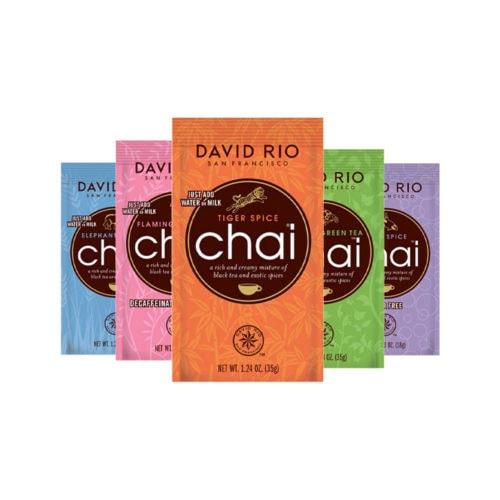 pr david rio portionsbeutel - David Rio Chai - Portionsbeutel