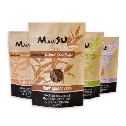 produkt maui su zucker naturbelassen unfaffiniert - MauiSu Rohrzucker - 500g