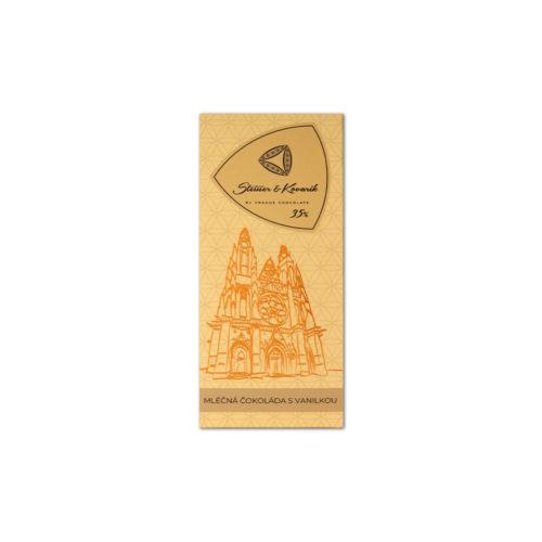 steiner kovarik naturvanille - Milchschokolade Naturvanille (50g) - Steiner&Kovarik